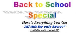 Back to School Special Fast Lane Automotive Orlando FL